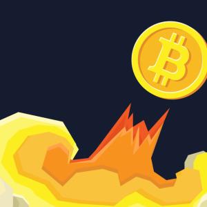 Bitcoin finally breaks above the $9,000 mark.