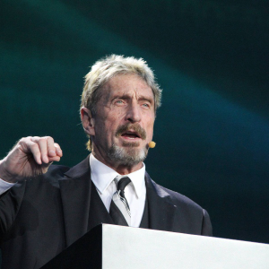 "John McAfee calls bitcoin ""the true shitcoin."""