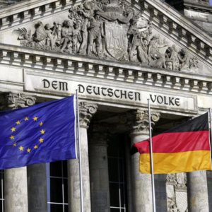 The central bank of Germany is working on a blockchain project.