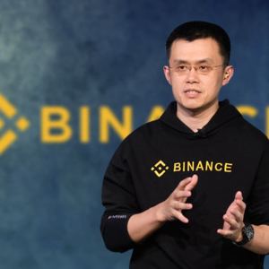Binance CEO demonstrates the first use of Binance Card powered by recently acquired Swipe.