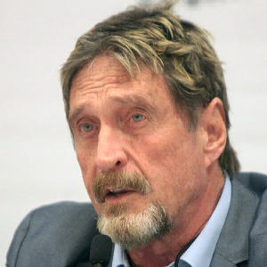 John McAfee discovers secret link to Binance in his Crypto exchange's address – John McAfee News