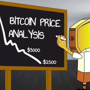 Bitcoin drops to $3200. $2500 next for BTC?