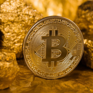 Bitcoin and Gold moving in synch over the last three months