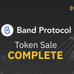 Binance Announces Completion of Band Protocol Lottery And Launches Three New BAND Pairs