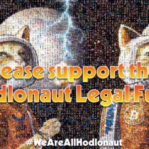 @Hodlonaut Crowdfunding Campaign Spins Up Uniting Crypto Community Against Craig Wright