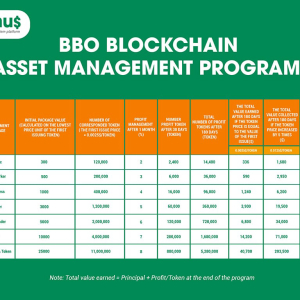 BBonus Prepares to Launch BBO Token Blockchain Asset Management Packages