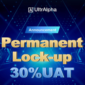 UltrAlpha to Permanently Lock-up 150 Million UAT Tokens