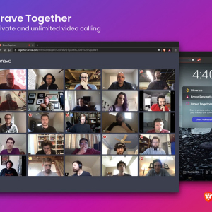 Brave Launches Unlimited Encrypted Video Calls to Compete with Zoom
