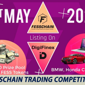 BMW and $100,000 Worth Prizes to Grab to Celebrate Listing of FESS on DigiFinex