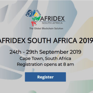 Afridex 2019 – The Global Blockchain Unity Conference in Africa