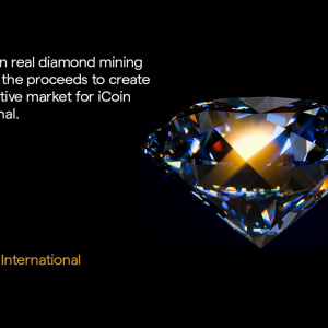 iCoin IEO Launched: Diamond Mining Powered by Blockchain and AI