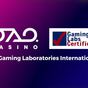 DAO.Casino Receives Integrity Award Certificate from Gaming Laboratories International