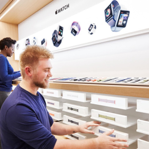 AAPL Stock Up Nearly 1% Now as Apple Will Reopen 100 Stores in U.S. This Week