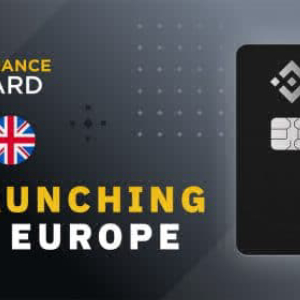 Binance Announces the Rollout of Binance Card in Europe and UK