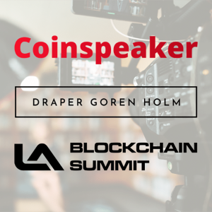 Coinspeaker Partners with West Coast's Largest Industry Conference Los Angeles Blockchain Summit In October