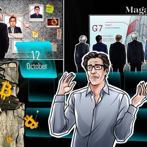 Big Bitcoin prediction, OKEx spooks markets, Ripple exec's crippling mistake: Hodler's Digest, Oct. 12–18