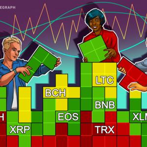Price Analysis 15/07: BTC, ETH, XRP, LTC, BCH, EOS, BNB, BSV, TRX, XLM