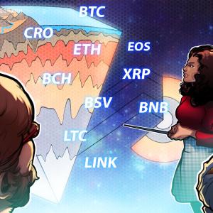 Price Analysis 7/13: BTC, ETH, XRP, BCH, ADA, BSV, BNB, LTC, CRO, LINK