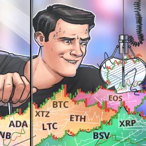 Price Analysis 6/5: BTC, ETH, XRP, BCH, BSV, LTC, BNB, EOS, ADA, XTZ