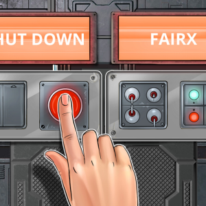 Crypto Banking Firm FairX Shuts Down Due to Lack of Financing