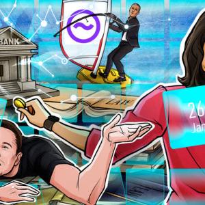 Telegram Attacks Apple, Musk on Crypto, WEF Debrief: Hodler's Digest, Jan 20–26