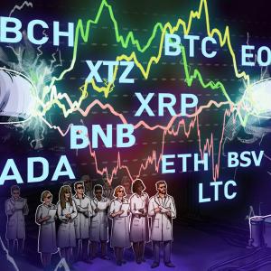 Price Analysis 6/10: BTC, ETH, XRP, BCH, BSV, LTC, BNB, EOS, ADA, XTZ
