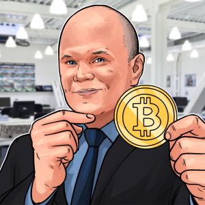 Bitcoin becoming less-risky as an investment, Novogratz says