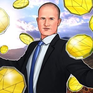 Brian Armstrong: Coinbase Custody Has $1 Billion of Crypto Under Management