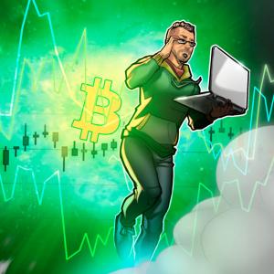 La inminente ruptura de esta línea de tendencia encaminaría nuevamente el precio de Bitcoin a los 14,000 dóalares
