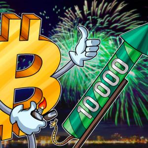 Bitcoin alcanza los USD 10,000 por primera vez desde marzo del 2018
