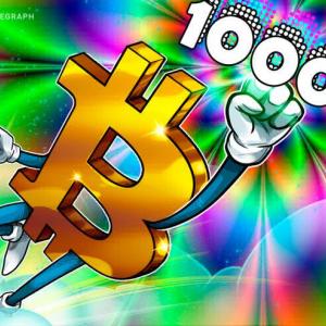 El precio de Bitcoin recupera los 10,000 revertiendo las pérdidas del fin de semana, XTZ se dispara un 13%