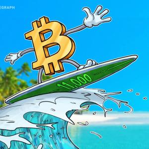 Bitcoin recupera los USD 11,000 tras una semana turbulenta para las criptomonedas