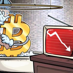 Un mal día para las acciones lleva al precio de Bitcoin por debajo del soporte clave de USD 9,300