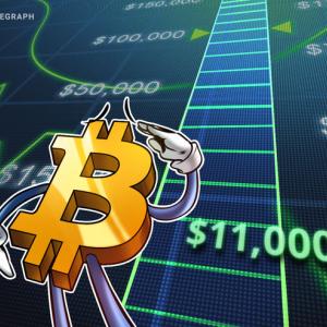 Bitcoin alcanza los USD 11,000 en menos de 24 horas de haber roto la barrera de los USD 10,000