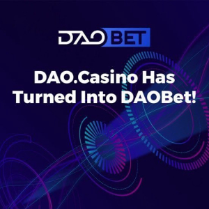DAO.Casino emprende estrategia de cambio de marca corporativa