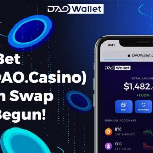 Empezó el intercambio de tokens DAOBet (ex DAO.Casino): es hora de reclamar los tokens BET
