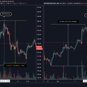 Bitcoin Plunges in Anticipation of Block Reward Halving