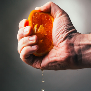 Long Orange Squeeze: Bitcoin's Sudden Tumble A Result Of BitMEX Liquidations