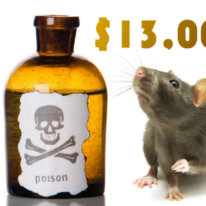 Bitcoin Price Analysis BTC / USD: $13,000 Rat Poison