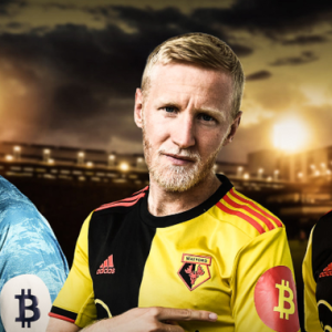Bitcoin Logo to Appear on Sleeve of Premier League's Watford FC Shirts