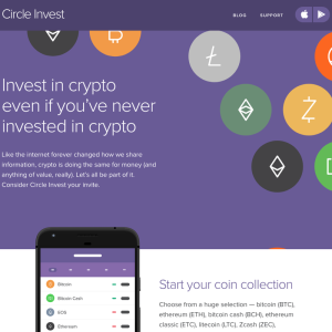 Circle's Crypto Trading App 'Circle Invest' Now Supports EOS, XLM, ZRX, and QTUM