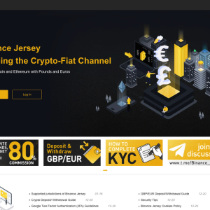 New Binance Exchange in Jersey Lets You Trade BTC and ETH With EUR and GBP, and Supports 58 Jurisdictions