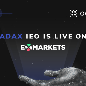 Venture Capital backed DEX for Cardano - ADAX IEO is live on ExMarkets