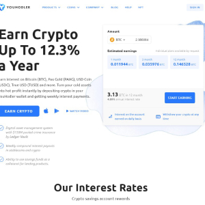 YouHodler: Earn from Your HODLing