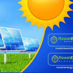 Blockchain goes Mainstream with Rowan Energy