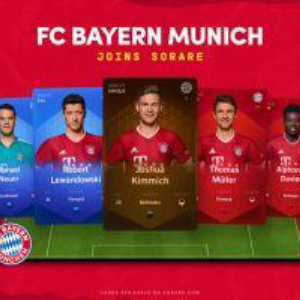 FC Bayern Munich Chooses Sorare's Global Fantasy Football Platform to Go Digital