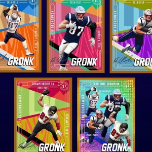 Super Bowl Champion Gronk Set to Auction His Own NFT Collection