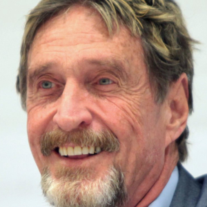 Will John McAfee be consuming his nether regions in 2020?