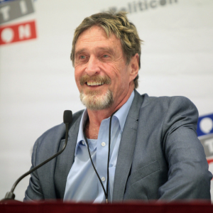 "McAfee on Bitcoin hitting $1 million: ""my track record is impeccable, it's how I became who I am"""