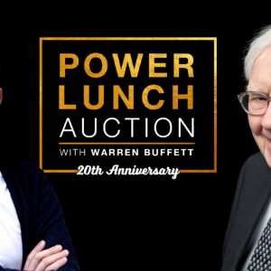20th eBay Power Lunch With Warren Buffett To Be Held On July 25, at Quince, SF